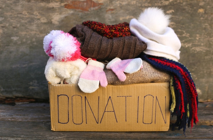 Donate_Clothes before moving