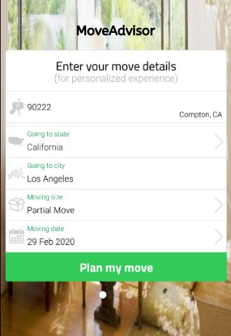 Move Advisor Feature