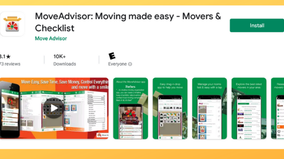 Move Advisor App