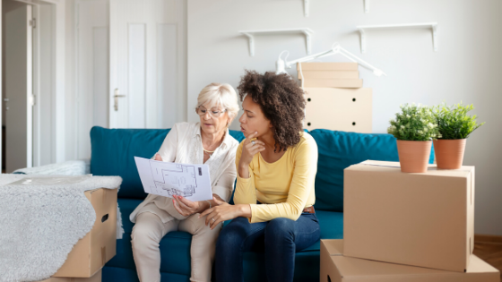 Get Elderly Parents online moving quote