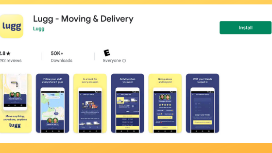 Lugg Moving Apps