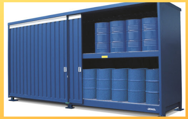 Hazardous Material renting a container for storage