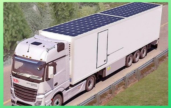 Solar Container Trailers