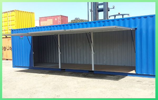 renting a customized container for storage