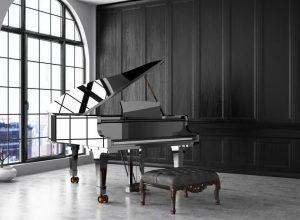 Move a black Piano