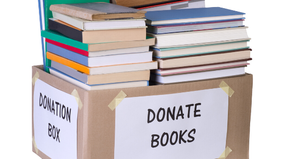 donate books for Moving