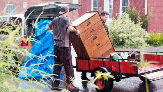way to move furniture in truck