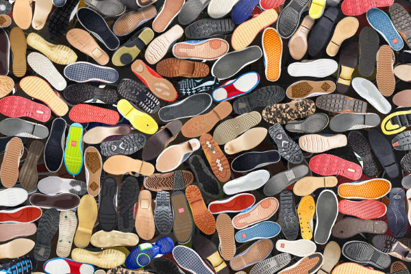 How to pack shoes for moving step 1