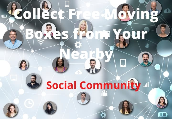 Social-Community moving boxes