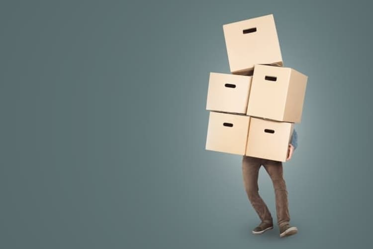 move with boxes