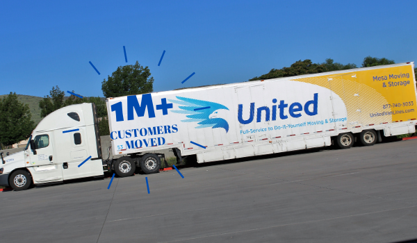 United Van Lines for  house move